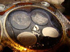 Клапана четвертого цилинра