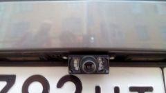 камера заднего вида geely mk
