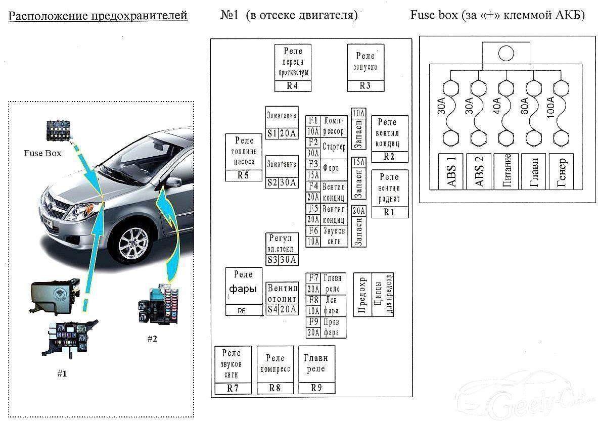 схема подсоединения магнитолы в машине джили мк